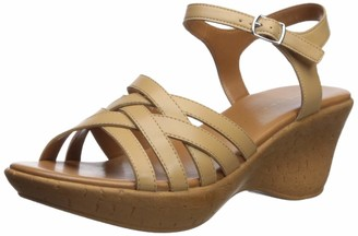 Athena Alexander Women's CASTLEWALK Wedge Sandal tan 11 M US
