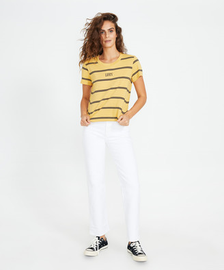 Levi's Graphic Surf T-Shirt 90'S Tomboy Yellow