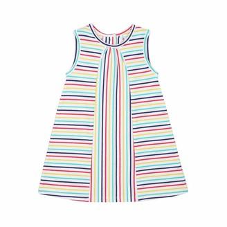 Mothercare Baby Girls' MG PA Stripe Jersey Dress