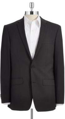 DKNY Skinny Two-Button Suit Jacket