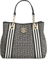 Tommy Hilfiger TH Monogram Jacquard Shopper