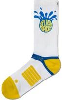 Strideline White Splash Bros Strapped Fit 2.0 Socks