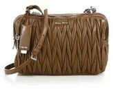 Miu Miu Matelasse Leather Camera Bag