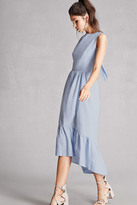 Forever 21 FOREVER 21+ High-Low Chambray Dress