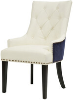 Chic Home Cadence Navy/White Dining Chair