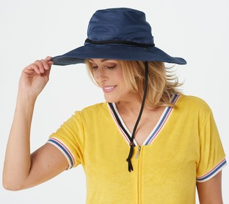 San Diego Hat Co. Active Hat with Chin Strap and UPF 50