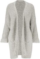 ... your normal size Oversized style, cut to be worn loose Weighted knit  Undercut Boucle