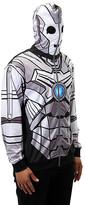 Elope Costume Outfits - Cyberman Zip-Up Hoodie - Adult