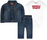 Levi's 3-Pc. Denim Jacket, Bodysuit & Jeans Box Set, Baby Boys (0-24 months)