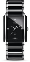Rado Integral L Quartz Jubile High Tech Ceramic & Stainless Steel Watch with Diamonds, 31mm