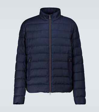 Loro Piana Quilted bomber jacket