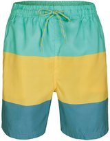 Soul Star Men's Color Block Swim Shorts