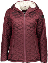 Steve Madden Merlot Faux Fur-Lined Hooded Puffer Coat