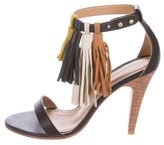 Ulla Johnson Leather Tassel-Accented Sandals