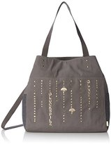 Adelheid Women's Glückspilz Tropfen Top-Handle Bag Grey