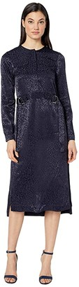 Ted Baker Kinzley Utility Dress with Buckle Detail (Dark Blue) Women's Clothing