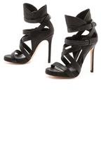 Camilla Skovgaard Collar Cross Stiletto Sandals