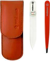 Pfeilring Nappa Leather Manicure Set - Orange