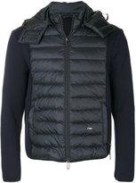 Emporio Armani padded panel jacket