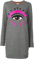 Kenzo Eyes knitted dress - women - Cotton - 40