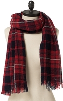 Tommy Hilfiger Checkered Wool Scarf