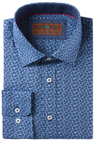 James Tattersall Cotton Floral Printed Sportshirt
