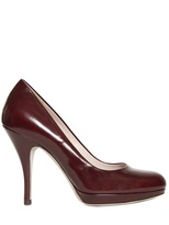 85mm Brushed Calfskin Pumps