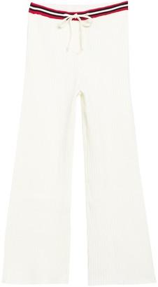 Emory Park Drawstring Rib Knit Crop Pants