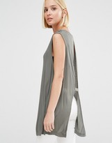 Cheap Monday Open Back Sleeveless Top