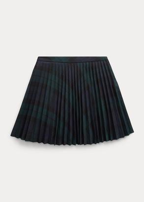 Ralph Lauren Tartan Plaid Pleated Skirt