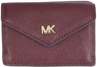 Michael Kors Money Pieces Small Flap-over Leather Wallet