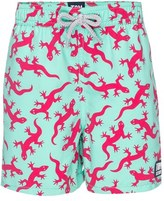 Toddler Boy's Tom & Teddy Lizards Swim Trunks