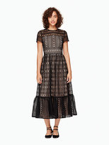 Kate Spade Mixed lace dress