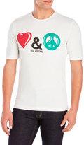 Love Moschino Love & Peace Tee