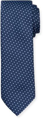 HUGO BOSS Men's Dot-Print Tie