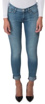 Hudson Tally Cuffed Skinny Jeans