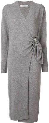 CHRISTOPHER ESBER Wrap Midi Jumper Dress