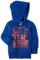 Diesel Infant Boys) Blue Be Brave Zip-Up Hoodie