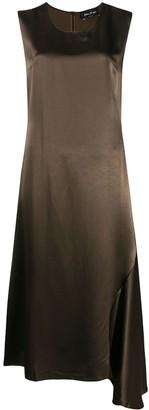 Andrea Ya'aqov Asymmetric Sleeveless Midi Dress