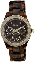 Fossil Women's Plastic Analog with Dial Watch ES2795