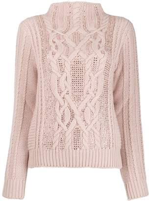 Ermanno Scervino long-sleeve knitted sweater