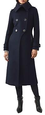 Mackage Elodie Wool-Blend Military Coat