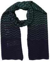 M Missoni Tow-Toned Wool Scarf w/ Tags