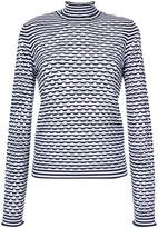 Dorothee Schumacher cut-out detail turtleneck sweater