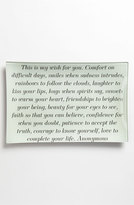 Ben's Garden 'This Is My Wish For You' Decorative Glass Tray