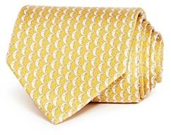 Salvatore Ferragamo Cresent Moon Classic Silk Tie