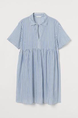 H&M MAMA Cotton Shirt Dress