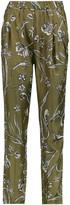 3.1 Phillip Lim Floral-print silk-twill tapered pants