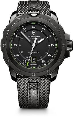 Victorinox Alpnach Mech Woven Strap Watch, 42mm