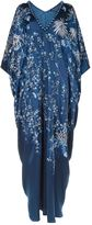 Natori Floral Embroidered Kaftan